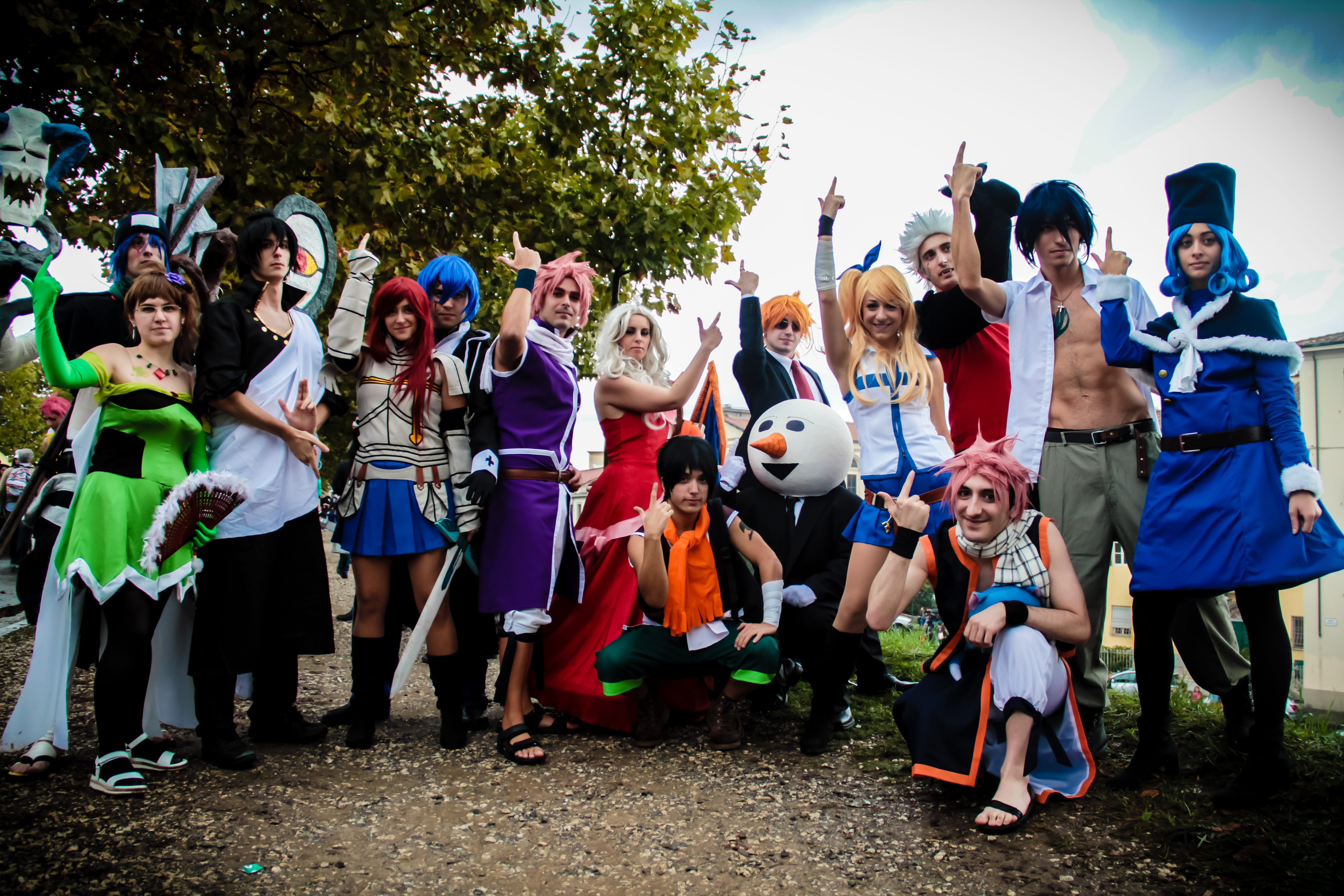 Fairy Tail al Lucca comics 2013